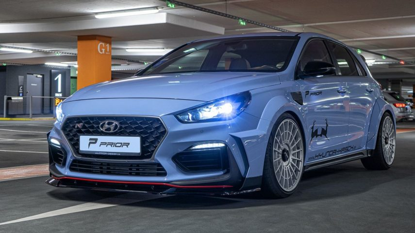Prior Design le da una capa de tuning al Hyundai i30 N