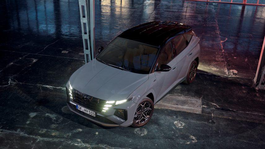 El Hyundai Tucson N Line 2021 aterriza como un nuevo SUV de aspecto deportivo