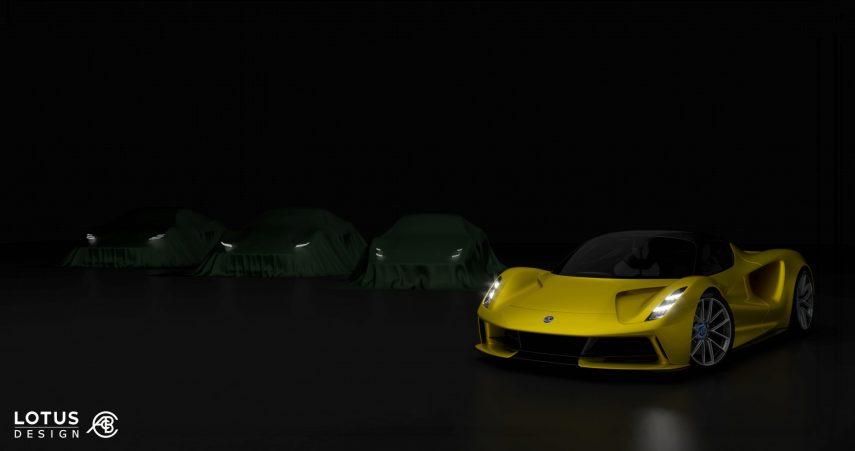 Lotus actualizará completamente su gama de cara a 2022