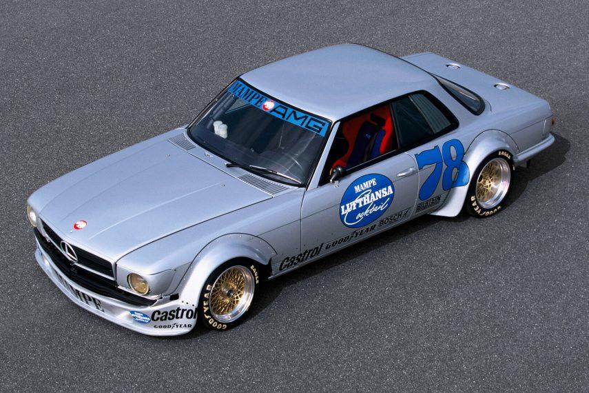 Coche del día: Mercedes-Benz AMG SLC 450 MAMPE (C107)