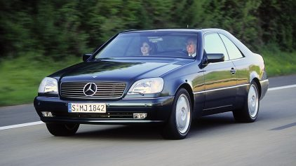Mercedes Benz S 420 Coupe C140 1