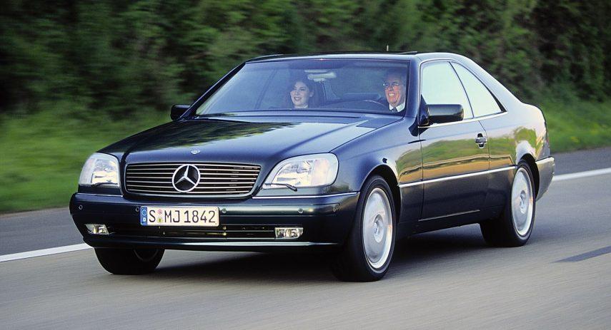 Mercedes Benz S 420 Coupe C140 1