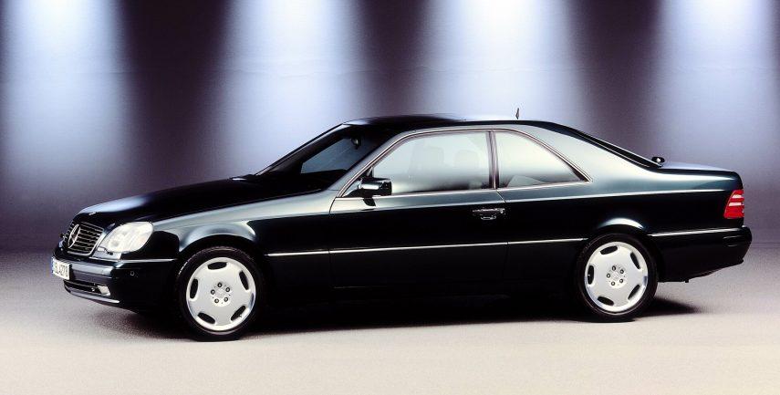 Mercedes Benz S 420 Coupe C140 2