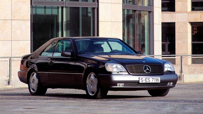 Mercedes Benz S 420 Coupe C140 3