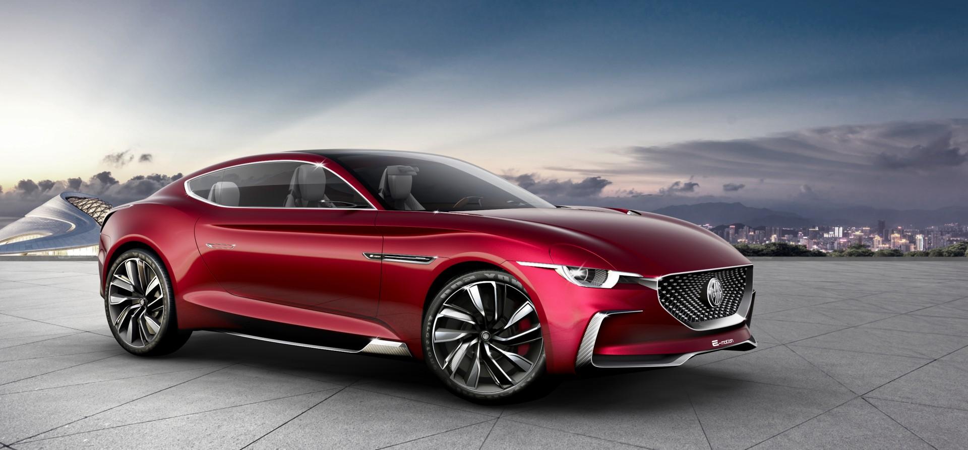 MG traerá un nuevo coupé deportivo y eléctrico en 2021