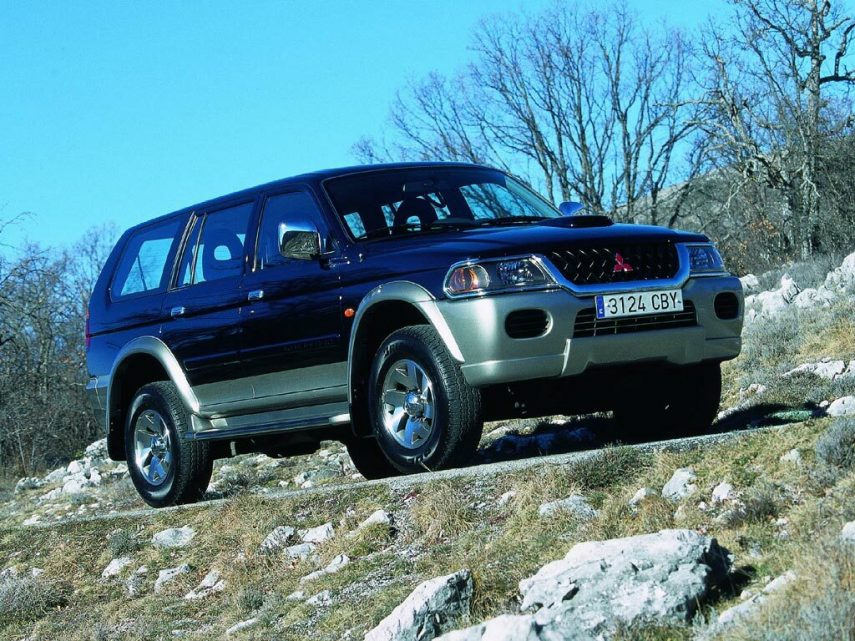 Coche del día: Mitsubishi Montero Sport