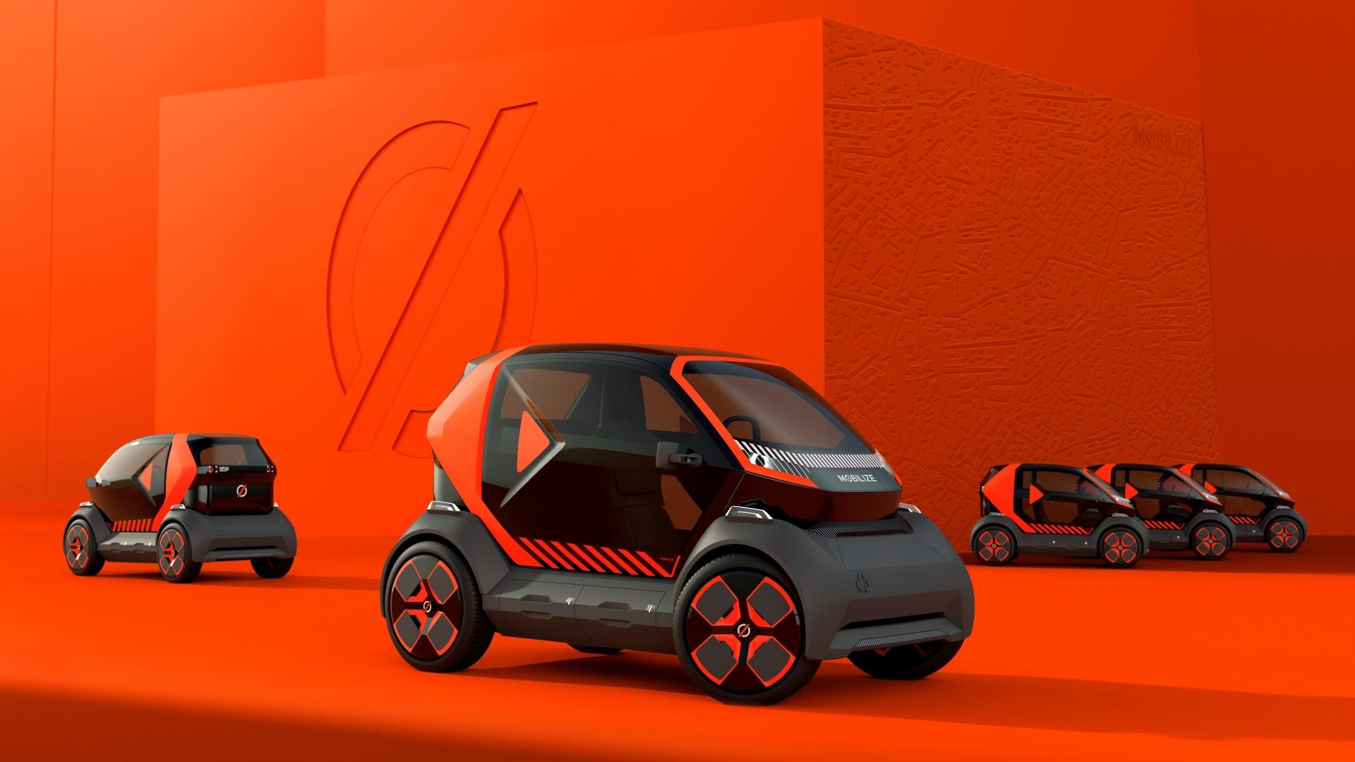 El Mobilize EZ-1 Prototype es el nuevo biplaza eléctrico de Renault