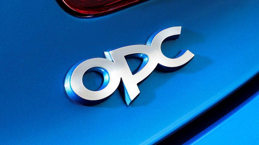 Opel Astra OPC J Logo