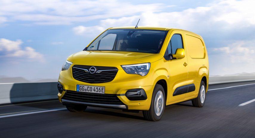 Opel Combo e Cargo 2021 (3)