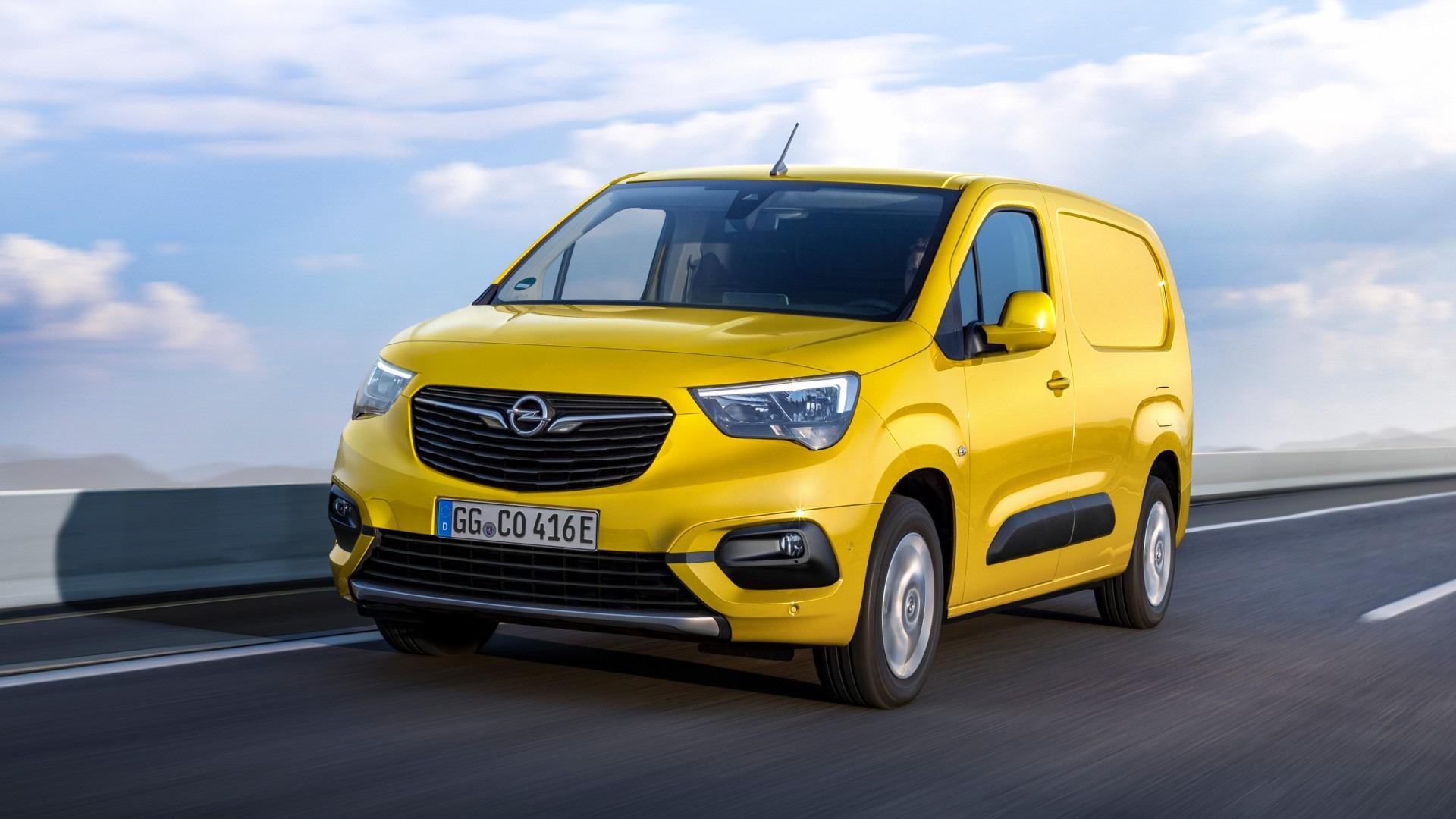 Opel Combo-e Cargo 2021, el comercial ligero y eléctrico del rayo