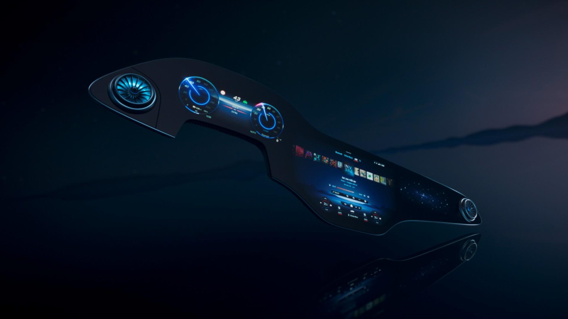 El sistema MBUX Hyperscreen de Mercedes-Benz promete mucho
