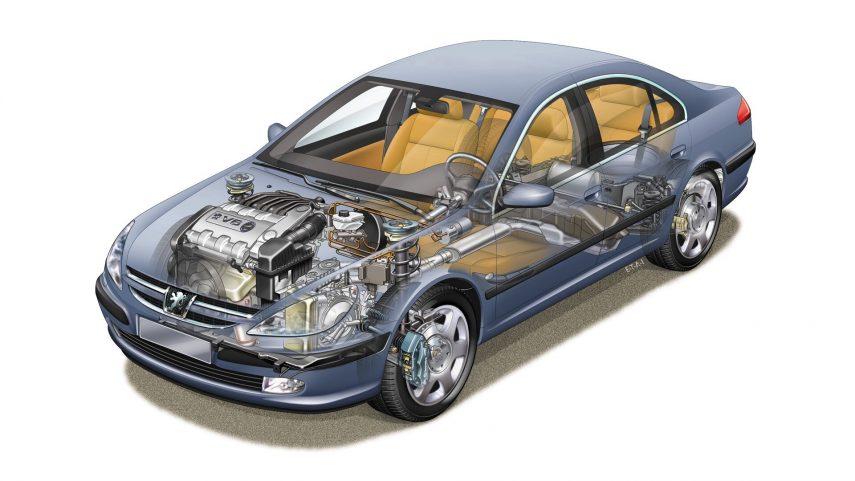 Peugeot 607 1999 5