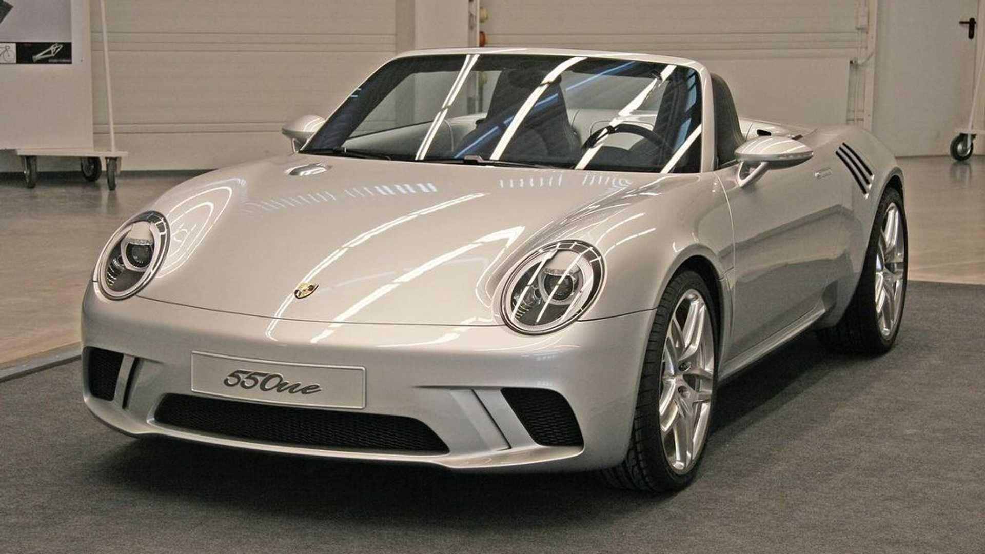 """Porsche 550one, la reinterpretación del famoso """"Little bastard"""" que nunca llegó"""