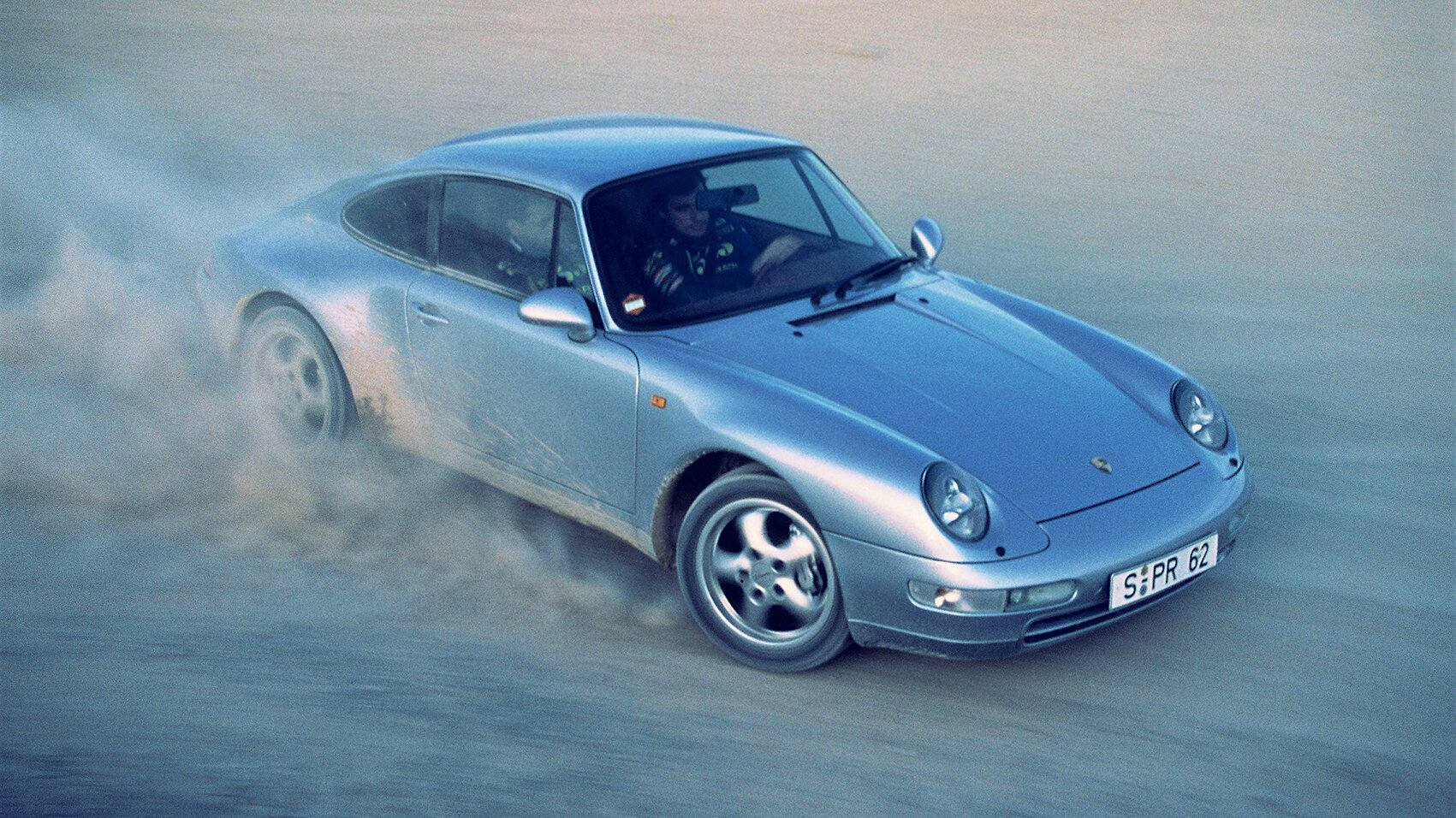 Coche del día: Porsche 911 Carrera 4 3.6 (993)