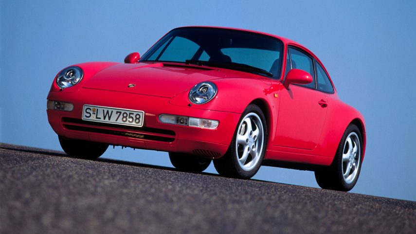 Porsche Carrera 4 Coupe 993 2