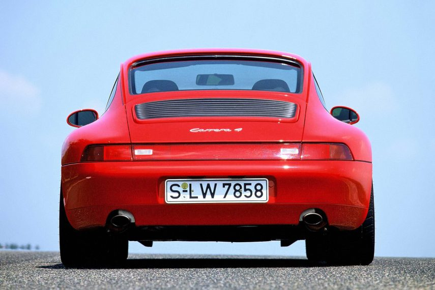 Porsche Carrera 4 Coupe 993 4