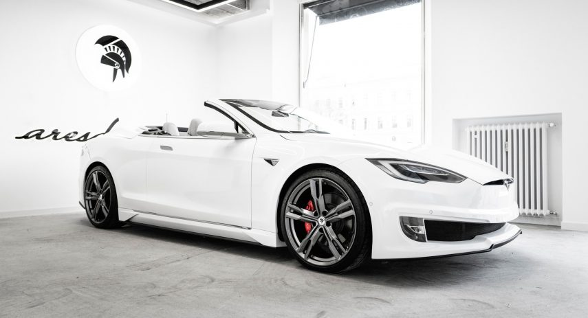 Tesla Model S Cabrio Ares Design Tuning (2)