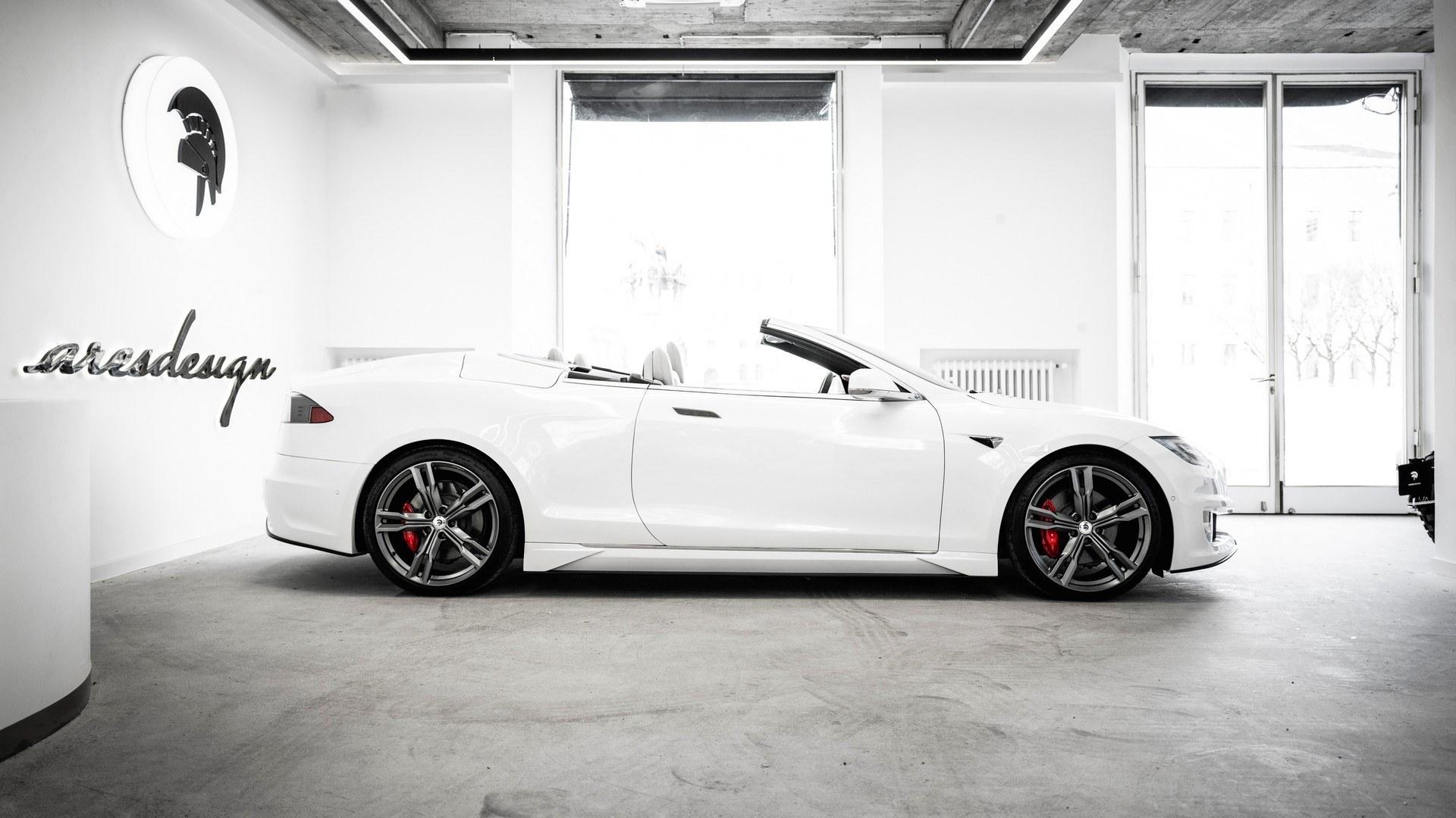 Tesla Model S Cabrio Ares Design Tuning (4)