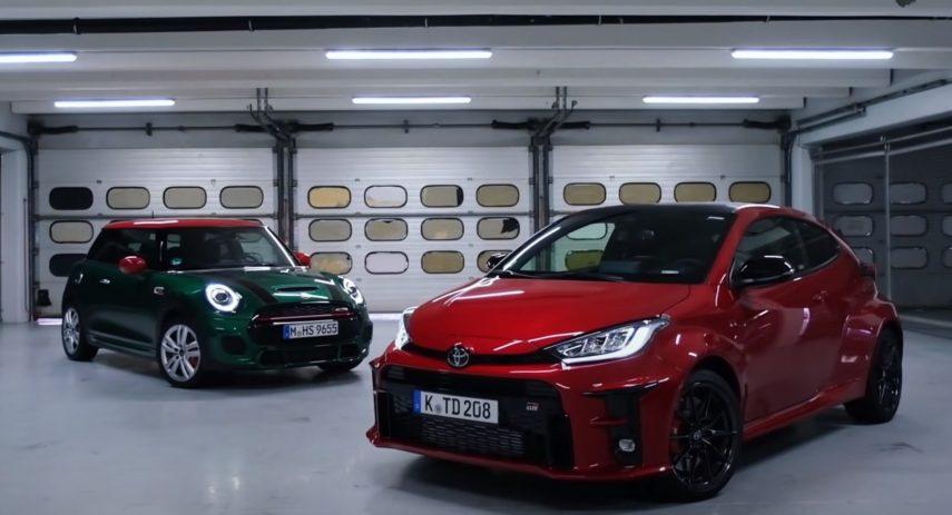 Toyota GR Yaris vs MINI John Cooper Works (JCW) Sport Auto