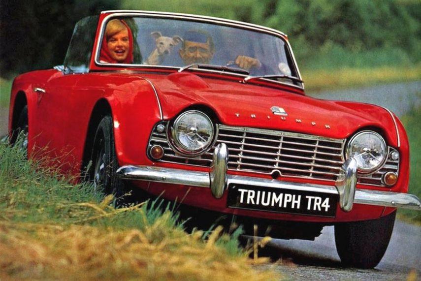Coche del día: Triumph TR4