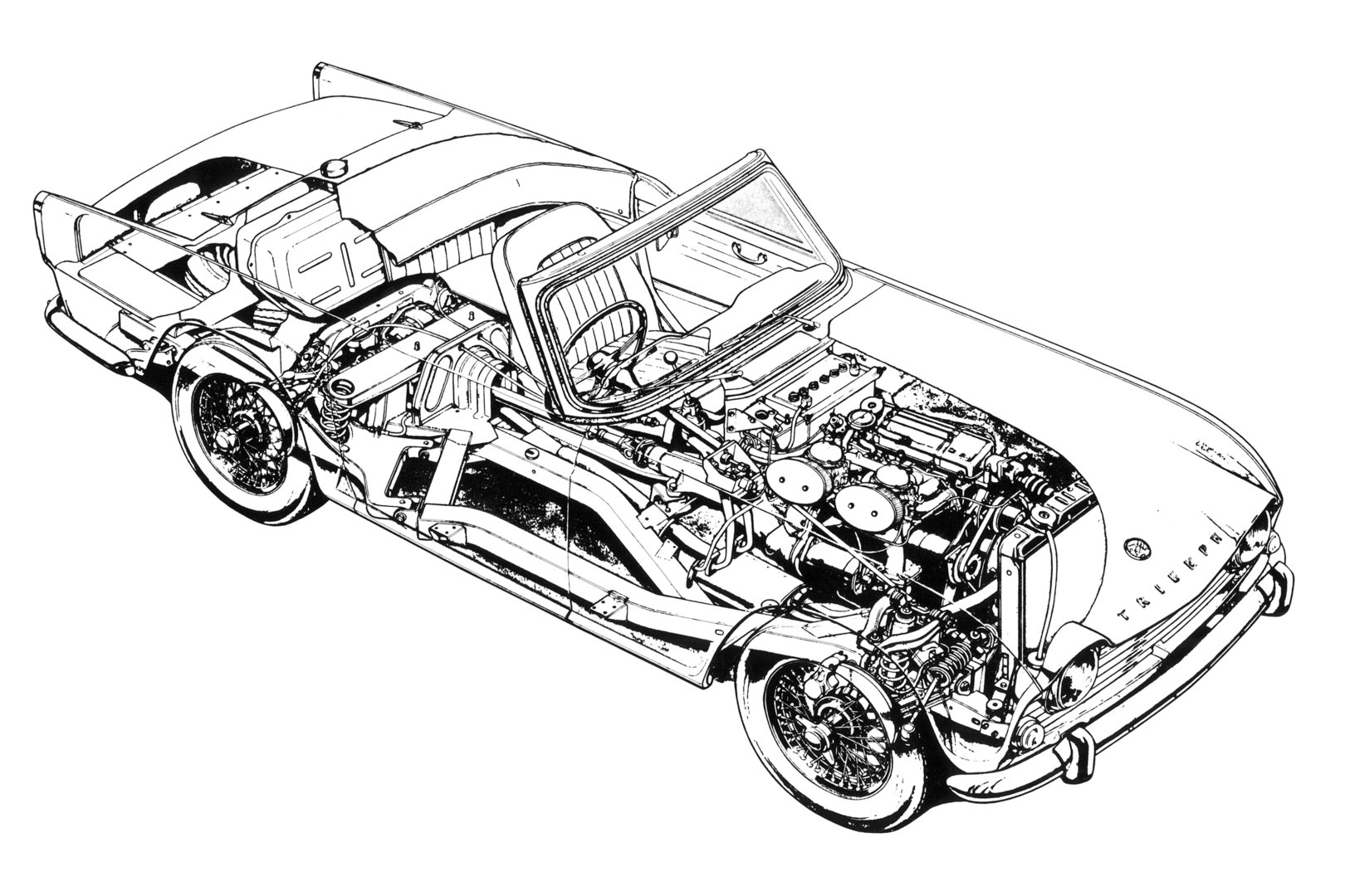 Triumph TR4 3