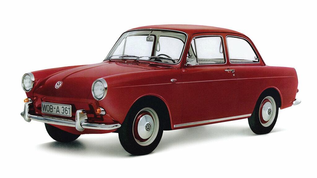 Coche del día: Volkswagen 1500/1600 (Typ 3)