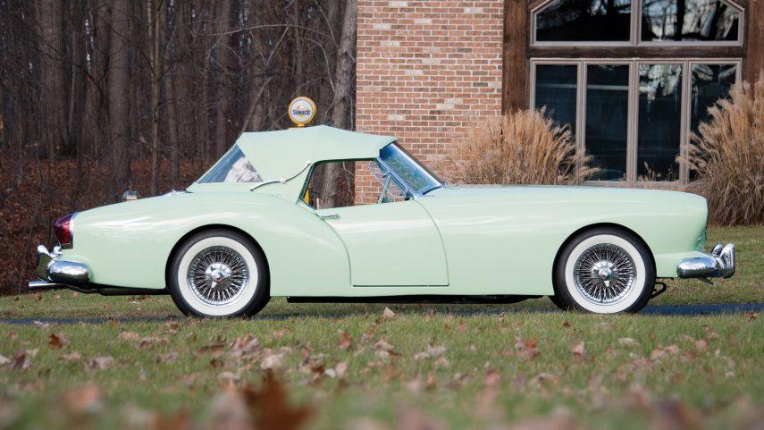 Coche del día: 1954 Kaiser Darrin Sport Convertible (161)
