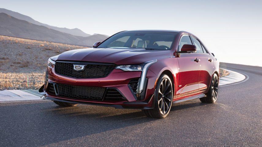 2022 Cadillac CT4-V Blackwing, la nueva berlina media de referencia estadounidense