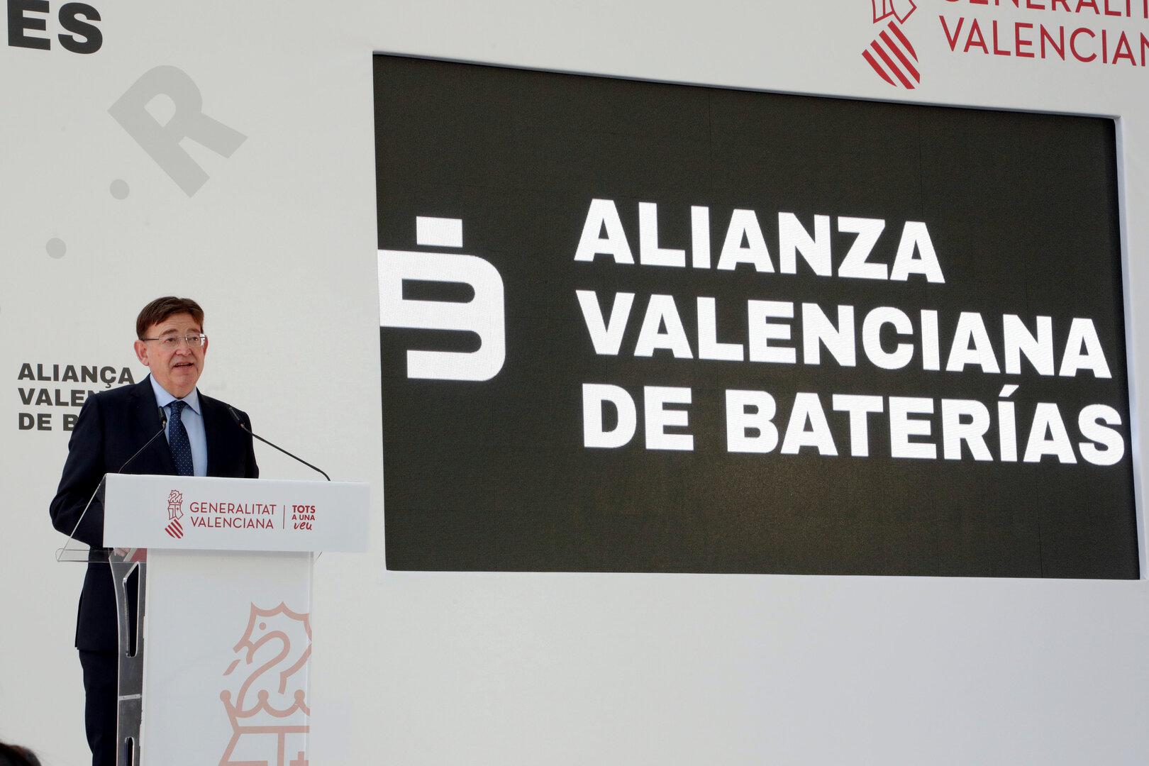 Valencia acogerá una gigafábrica de baterías destinadas a vehículos eléctricos