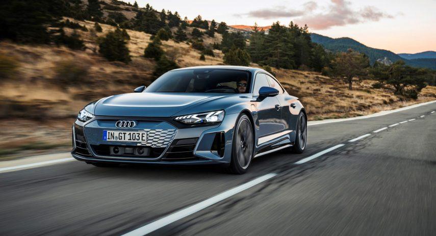 Audi e tron GT quattro 2021 (13)