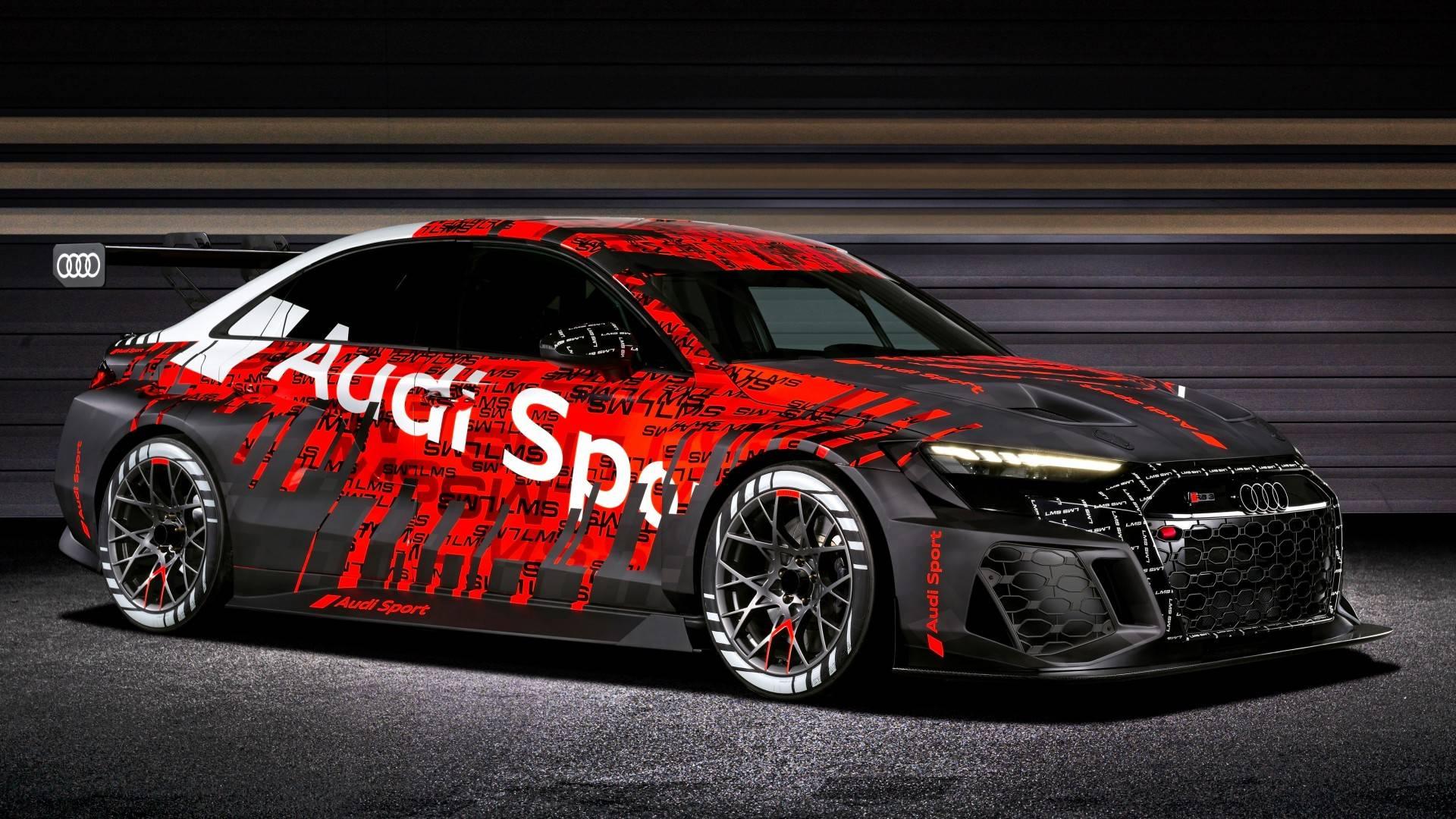 El Audi RS 3 LMS 2021 promete mayores ventajas en todos los aspectos