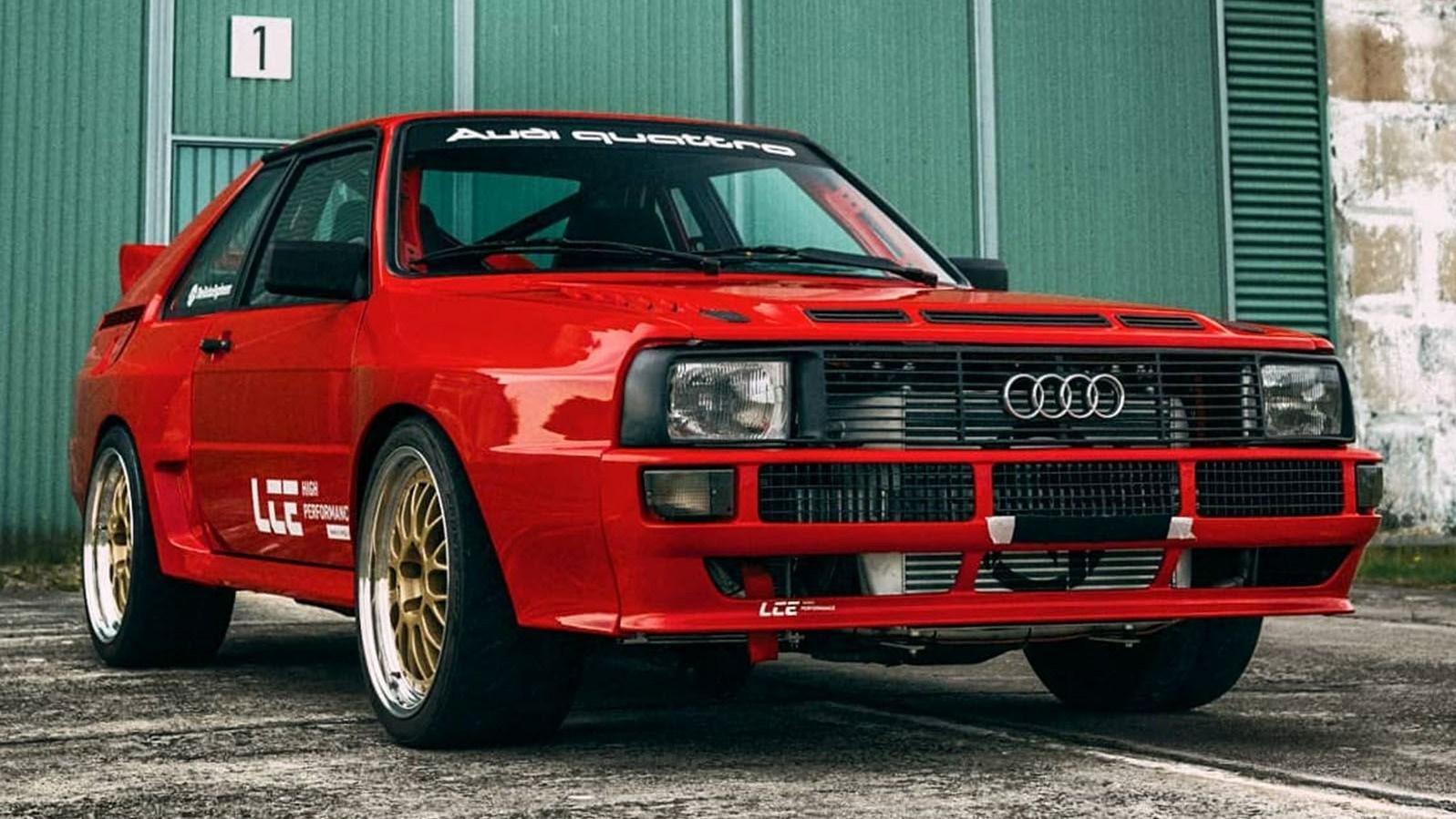 "Audi Quattro ""Turbomonster"", una obra maestra de LCE Performance"