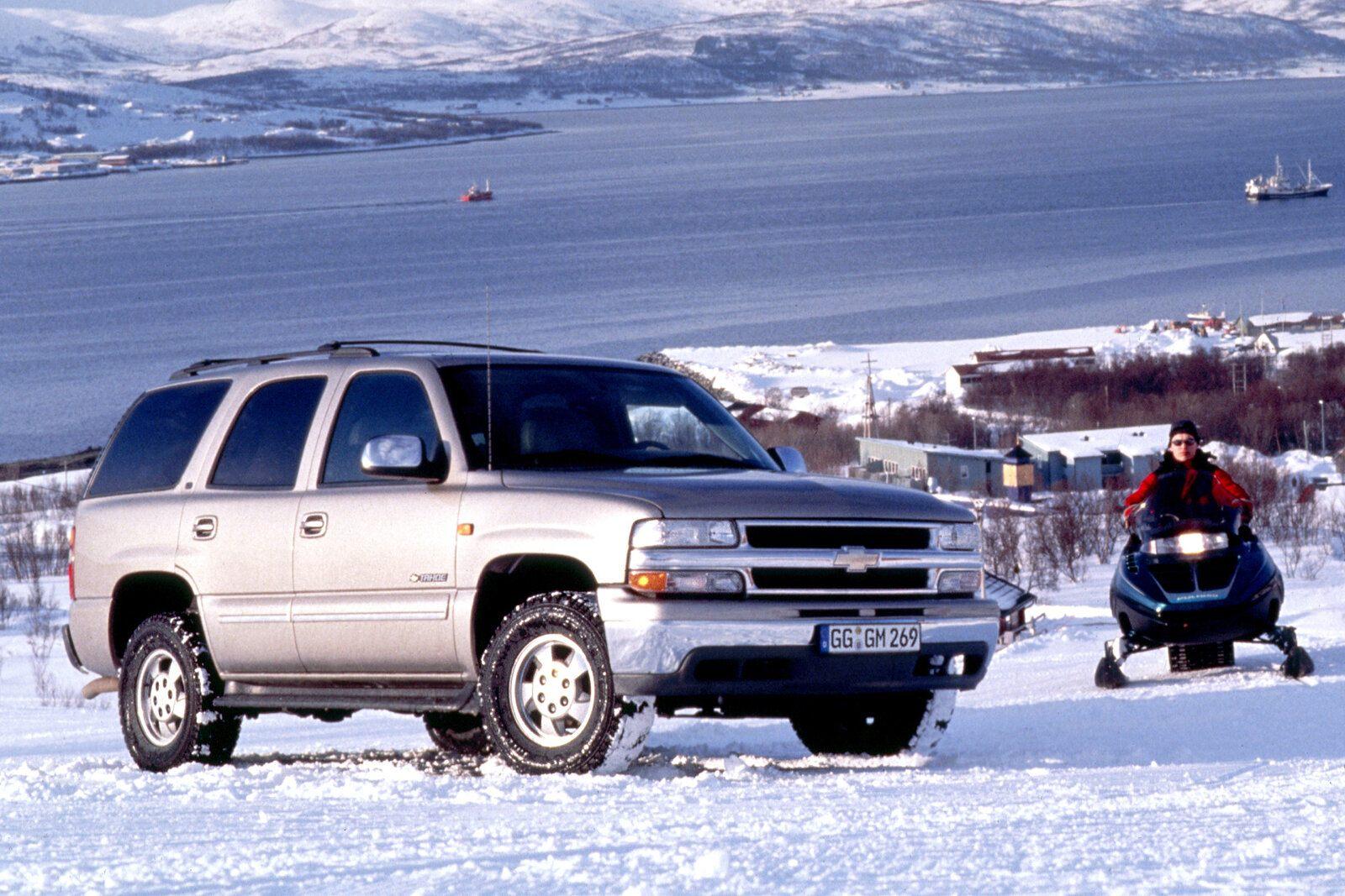 Coche del día: Chevrolet Tahoe (GMT840)