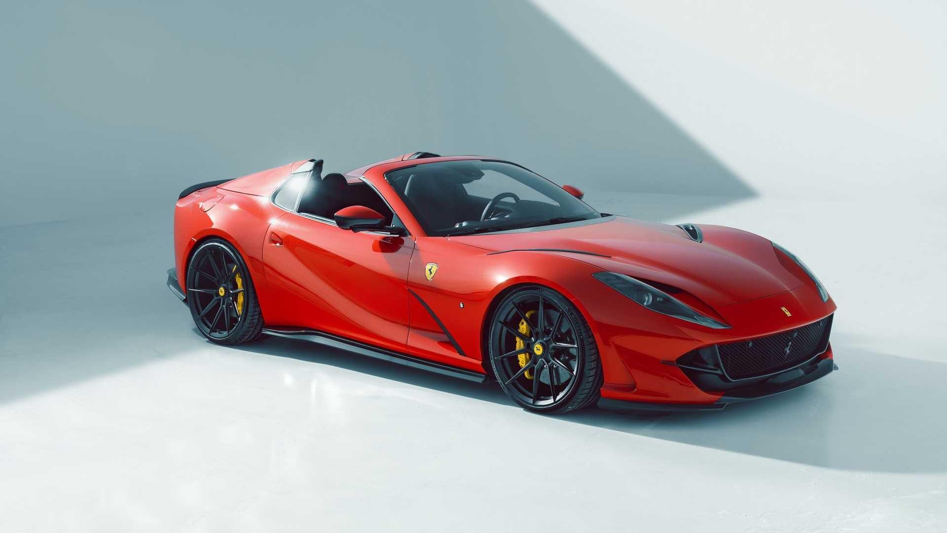El Ferrari 812 GTS de Novitec es el equilibrio entre la personalización y la esencia original