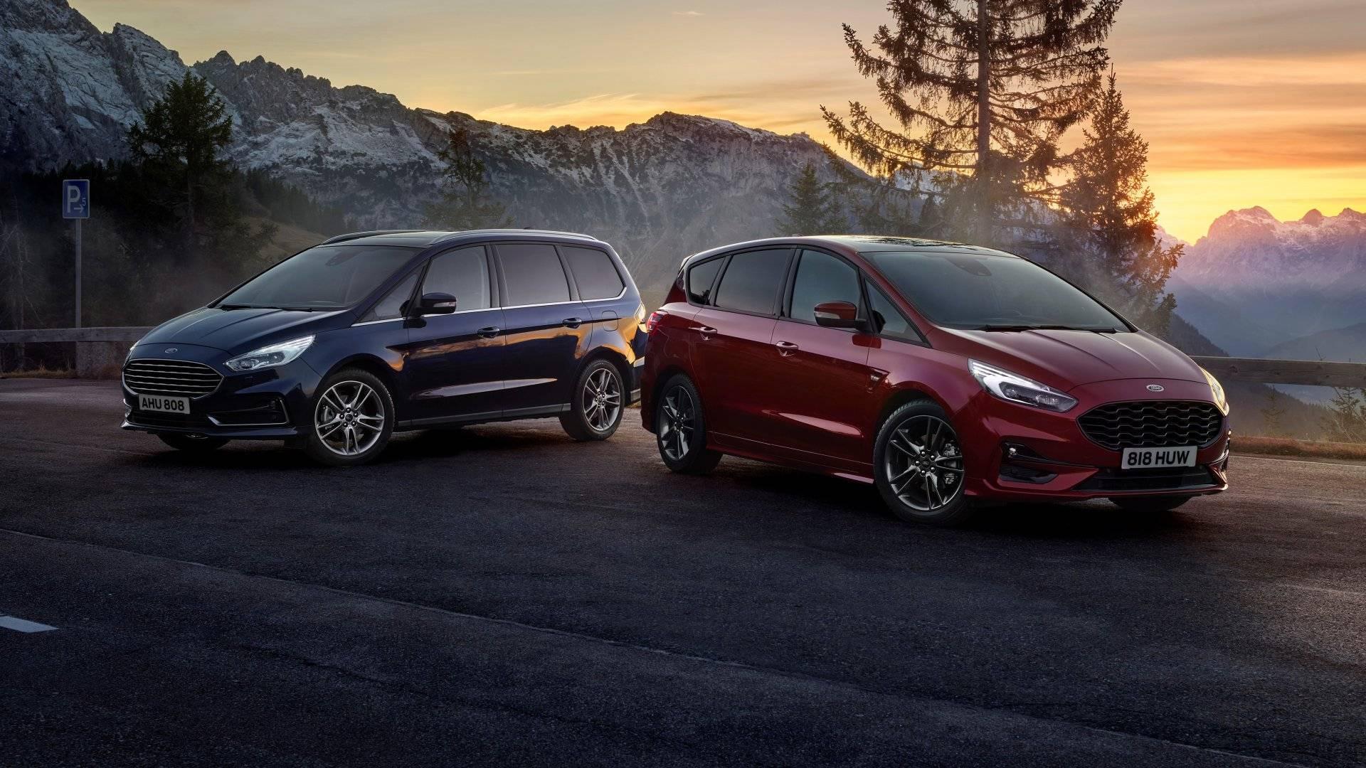 Aterrizan los Ford S-MAX y Galaxy Hybrid 2021