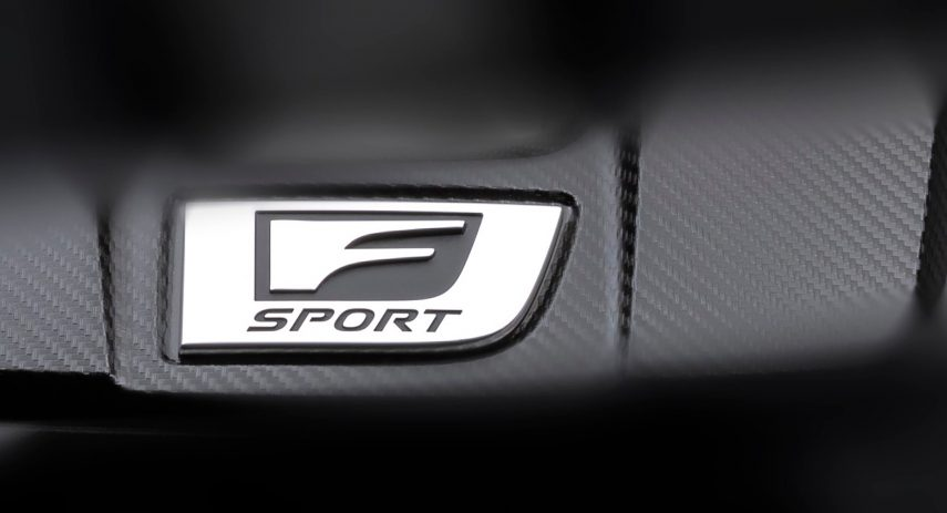 Lexus F Sport Teaser 1