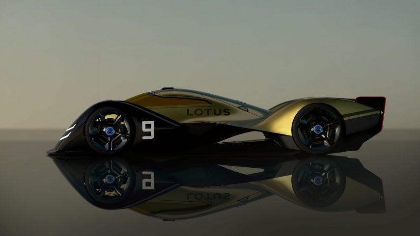 Lotus E-R9, así podría verse un prototipo de resistencia para la década de 2030