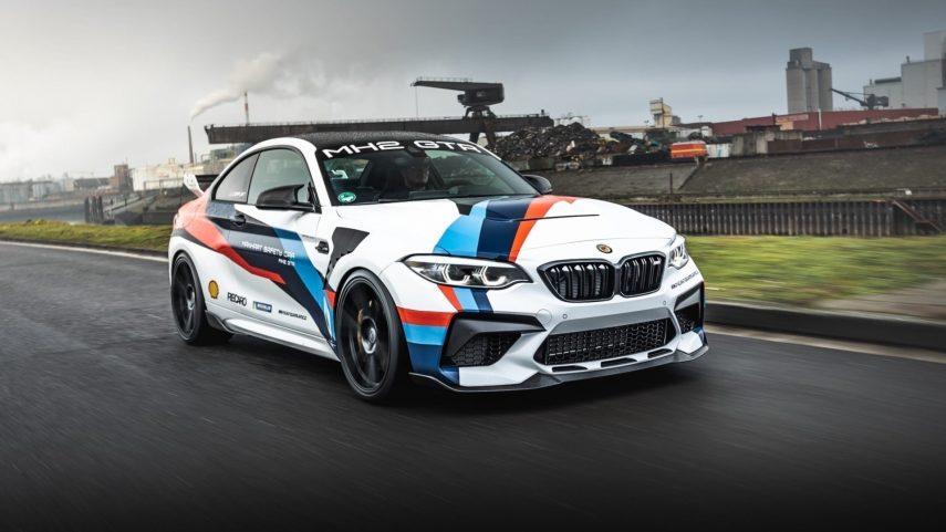 Manhart MH2 GTR, el BMW M2 CS transformado en el arma definitiva