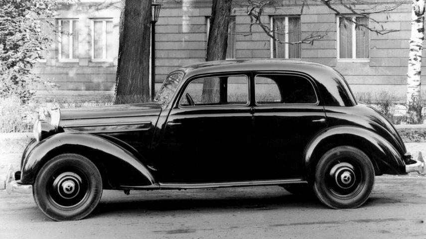 Mercedes Benz 170 DS Limousine 1952 2