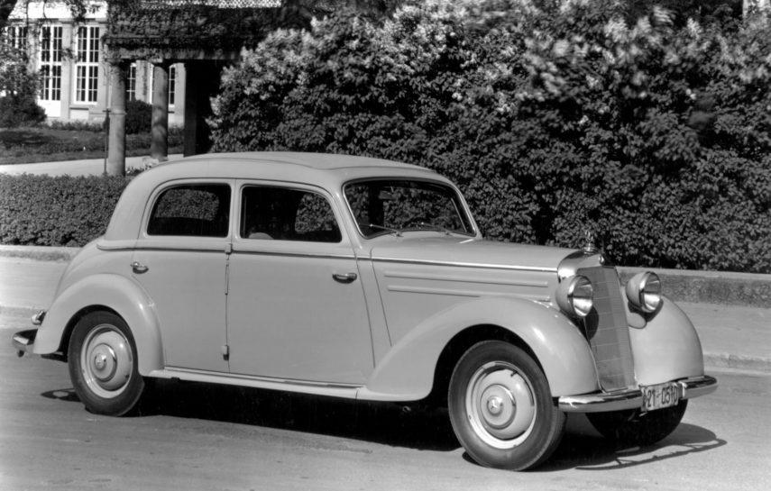Mercedes Benz 170 S D Limousine 1953