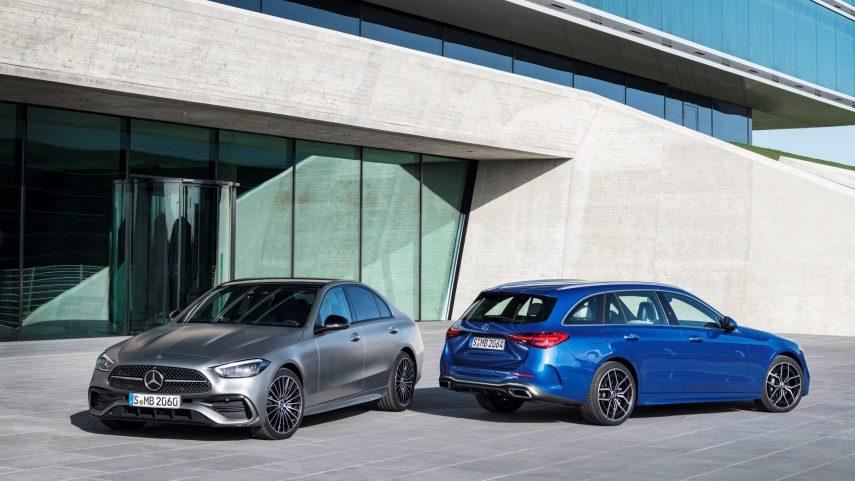 Mercedes-Benz Clase C 2021, apariencia de Clase S en formato reducido