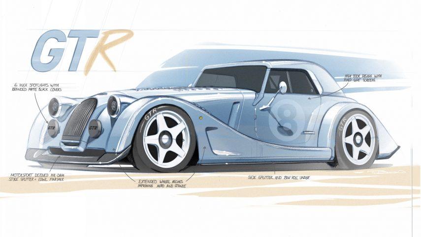 Morgan Plus 8 GTR, un nuevo modelo revivido de la tumba