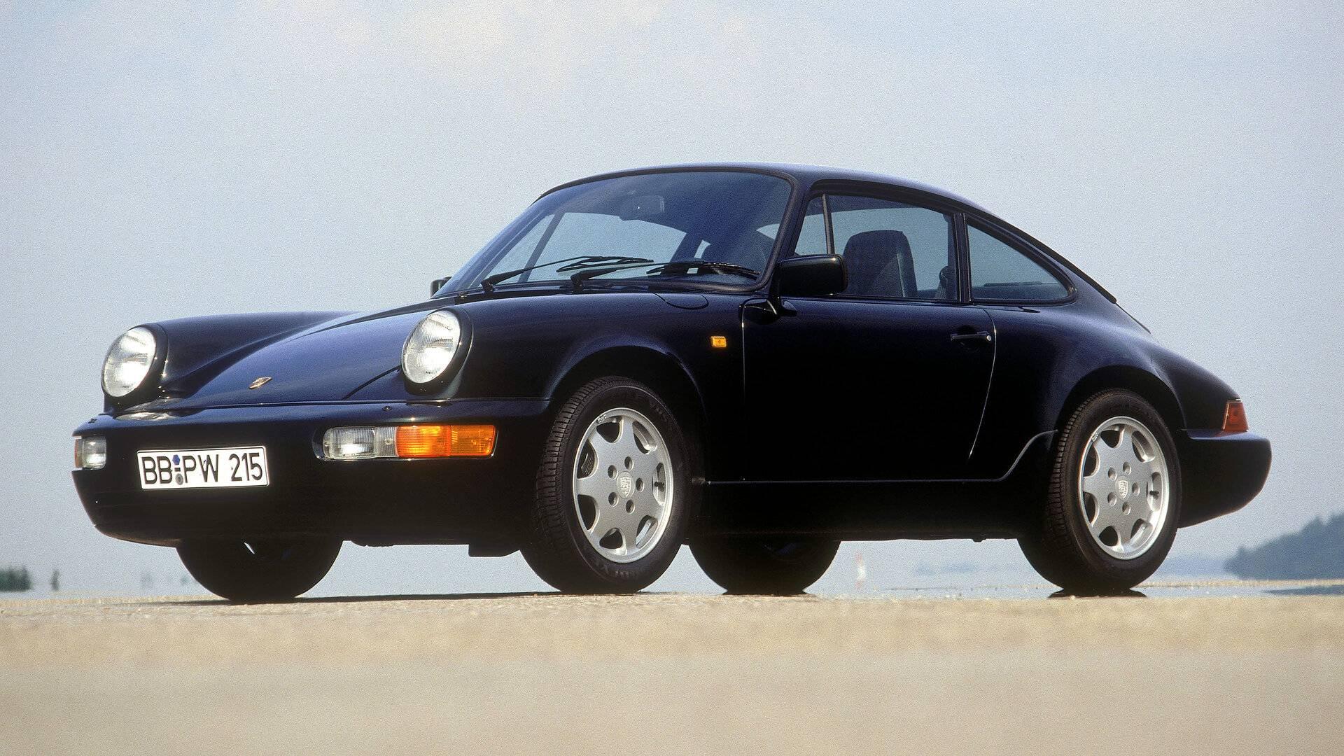 Coche del día: Porsche 911 Carrera 2 Coupé (964)