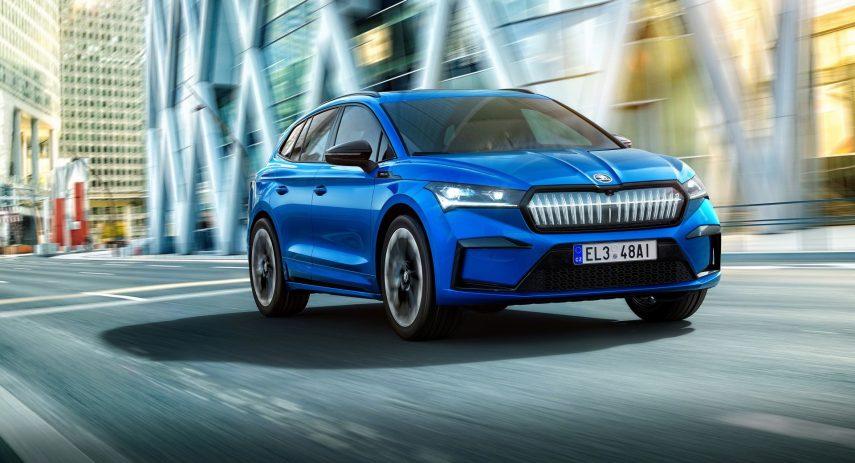 Škoda Enyaq Sportline iV 2021 (1)