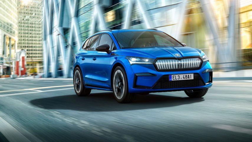 Škoda Enyaq Sportline iV 2021, el SUV eléctrico recibe un traje más deportivo
