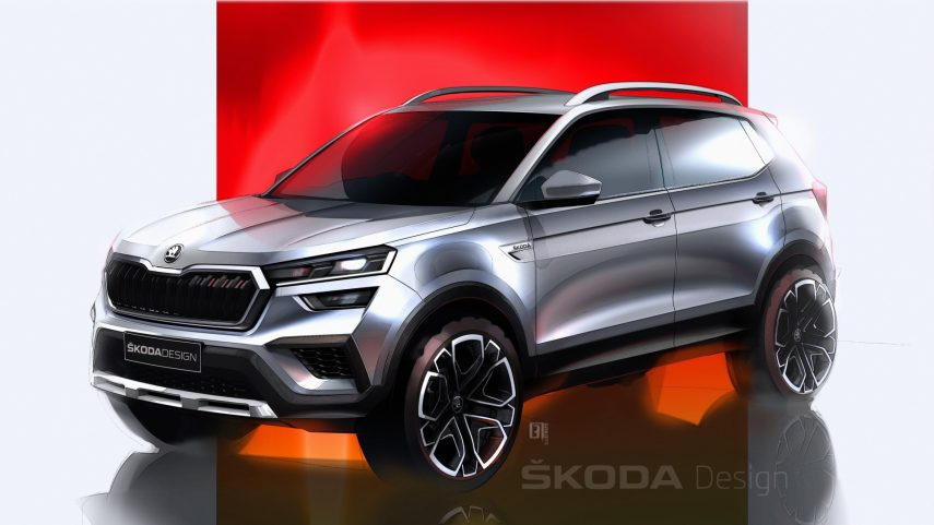 Škoda Kushaq 2021, el primer producto de la marca para la India