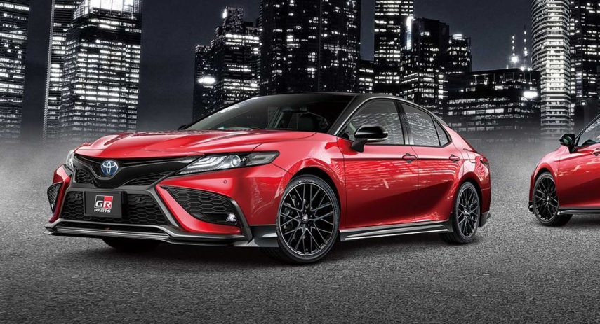 Toyota Camry GR Parts Black Edition Tuning 2021 (1)