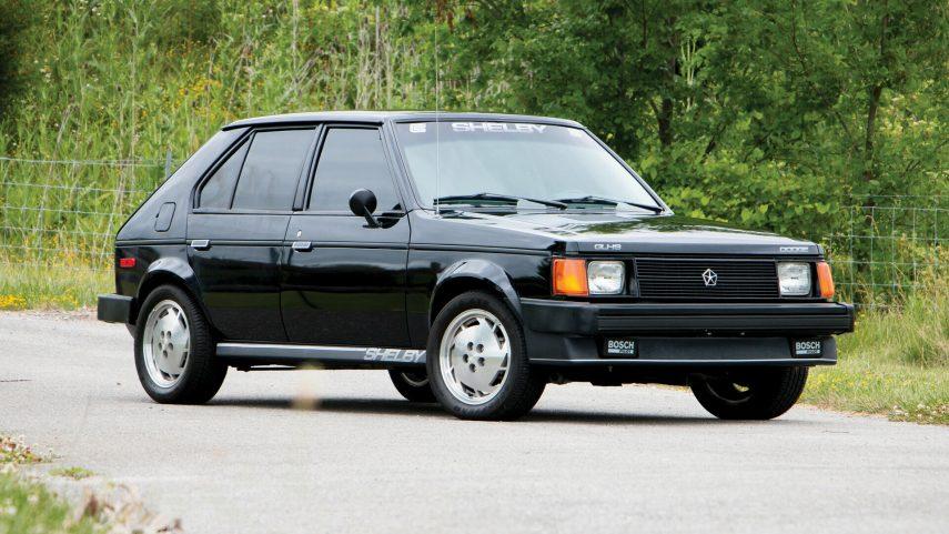 Coche del día: 1986 Dodge Shelby Omni GLHS