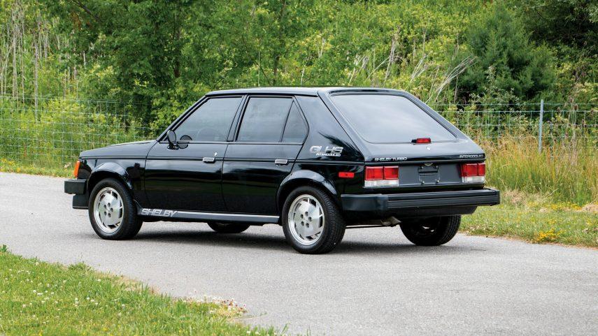 1986 Dodge Shelby Omni GLHS 2
