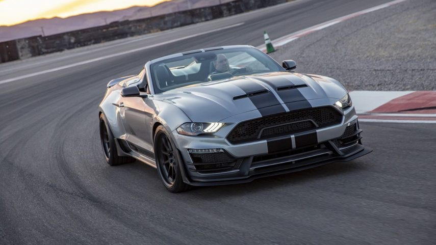 2021 Shelby Super Snake Speedster, un descapotable de armas tomar